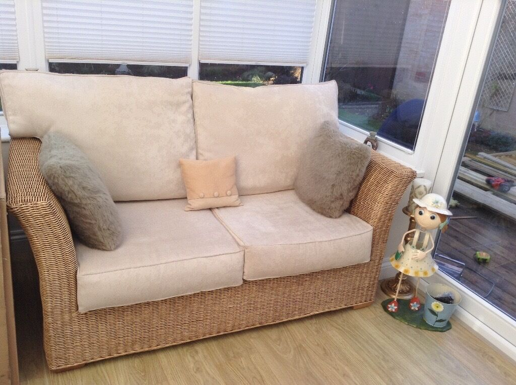 Modern Conservatory Furniture 2 Seater Sofa Amp A Chair