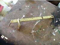 Pz drum mower blade detaching tool