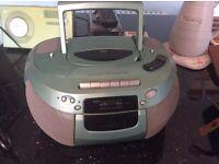 Bush Radio & CD & tape player