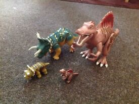 Playmobil Dinosaurs, Spinosaurus and Triceratops