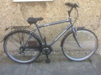 MANS HYBRID BIKE FOR SALE-IMMACULATE CONDITION -FREE DELIVERY