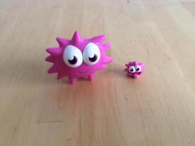 Micro Moshi Monster Iggy Character & Case
