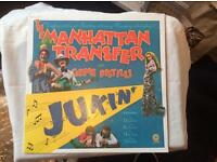 "The Manhattan Transfer vinyl album ""Jukin'"""