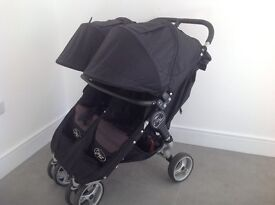 Baby jogger City Mini (double) Buggy with Belly bar