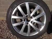 "17""alloys removed from 2001 Volvo v70"