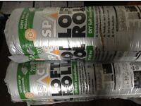 Loft insulation - 4 rolls