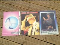 David Bowie 1983 1984 and 1986 calendars