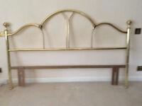 Solid Brass Bed Headboard