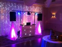 DJ Hire London Mobile Disco Wedding DJ Photo Booth Mr & Mrs Wedding Letters For Hire