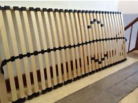 Free to collector. Betten-Abc single slatted bed frame 80cm x 200cm