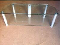 Glass Topped TV Stand - Great condition
