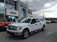 2014 Ford F-150 XTR, Leather, Sunroof, Cap, Clean Carproof