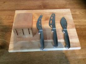 Cheese Board and Utensils