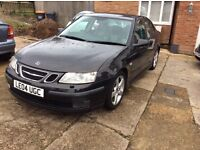 SAAB 9-3 1 8 t. AUTOMATIC ONLY 75000 miles. Superb car 12 months mot