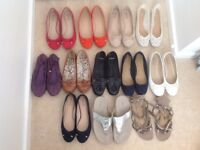 Ladies Shoes size 7 - 12 pairs