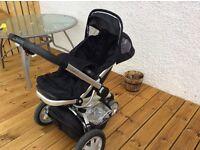 Quinny Buzz Stroller + Maxi Cosi car seat
