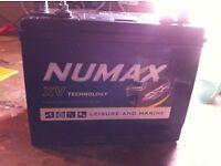 Numax CXV Sealed 86 ah leisure battery - as new