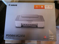 Unopened Printer/Scanner Canon Pixma MG2450 (Ink included)