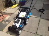 Lawn mower self propelled 42 cm cut