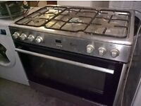Silver Range gas cooker 90cm.....Mint free delivery