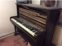 Free old upright piano