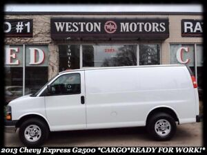 2013 Chevrolet Express 2500 G2500* CARGO* READY FOR WORK!