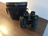 Vintage Prinzlux 7x 50 Coated Optics Binoculars