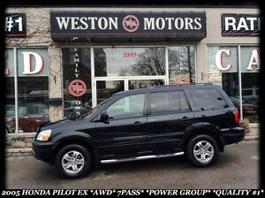 2005 Honda Pilot EX *AWD *7PASS *AUTO *POWER GROUP *QUALITY #1