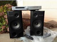 Amp CD Player wharfdale speakers