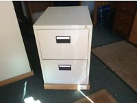 2 drawer steel filing cabinet. Excellent condition.