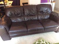 FREE. 2 x 3 seater sofas dfs