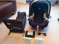 Britax baby safe plus 2 car seat and isofix base