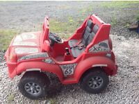 Toy car, battery driven
