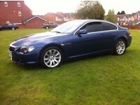 BMW 645CI BLUE COUPE PANORAMIC ROOF, LONG MOT (6 SERIES 645 ci) px