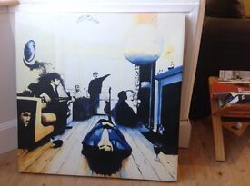Oasis album cover painting (feel free to view) definitely maybe
