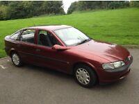 Vauxhall vectra 1.6 8v must go