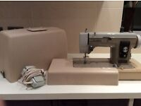 Newhome Electric Sewing Machine with carry case Model 535