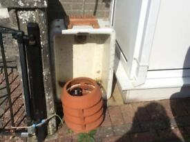 Repurpose or re-use Sink and Chimney cowling