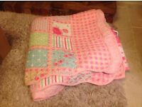 Double bed size cover/throw