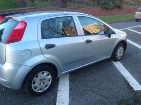2007 Fiat Grande Punto 1.2 Petrol Active Hatchback 5 doors, Grey Manual gearbox