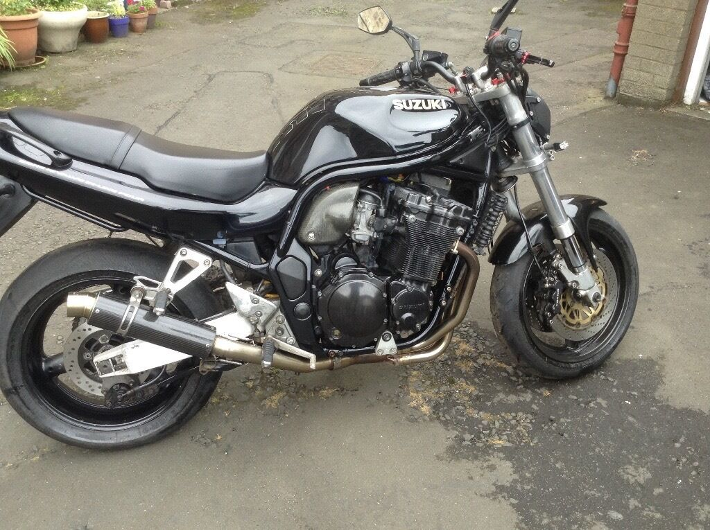 suzuki bandit 1200 streetfighter in granton edinburgh. Black Bedroom Furniture Sets. Home Design Ideas