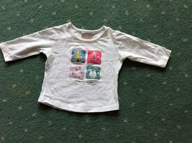 Baby Christmas top 3-6 months