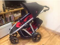 Phil and teds verve pushchair with double pack