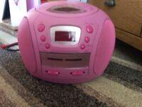Kids pink radio !