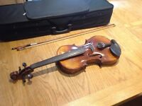 Full Size Violin (bow and case included)