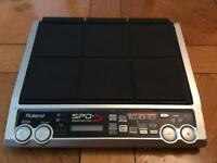 Roland SPD-S Sample Pad with 512MB Memory Card and Reader.