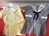 Two children's dresses age 2/3 yrs.