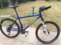 Hard tail mountain bike. Hand built (tourer)