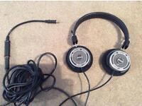 Grado Prestige SR325 hi-fi headphones and accessories