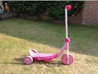 Hello kitty toy scooter